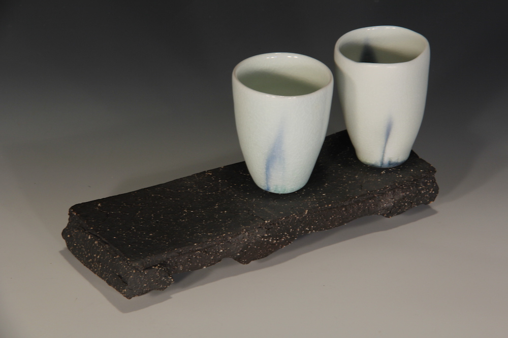 20. Sandy Lockwood - 'Stand and Two' - woodfired saltglazed porcelain and stoneware 2014 resized