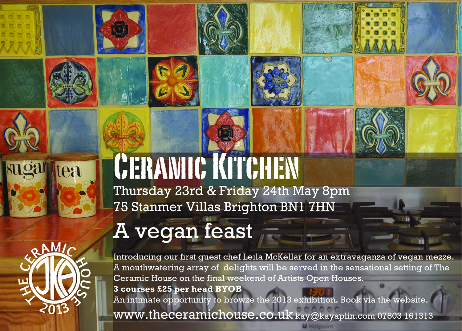 MAY 2013 CERAMIC KITCHEN FLYER
