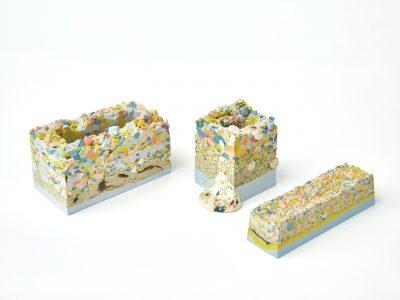 Ho Lai, Aggregates Series, Porcelain, Glazes, Size Variable ,2019, photo Alick Cotterill