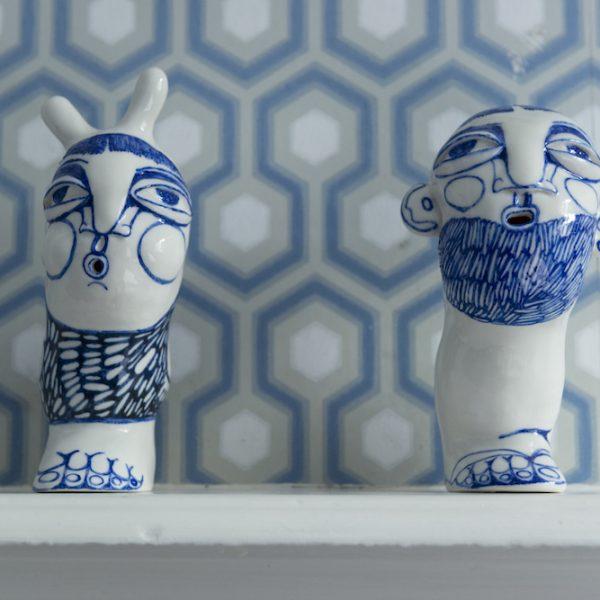 JOY Janina Myronova Bunny & One Leg Blues Room The Ceramic House