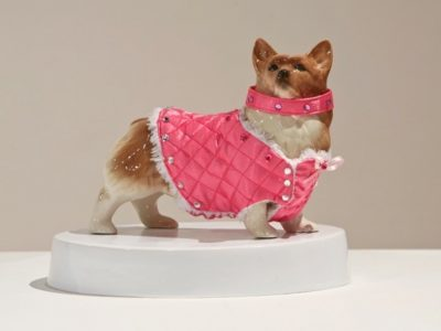Postmodern Animal Porcelain, textile - Yingge Ceramics Museum, Taipei, Taiwan