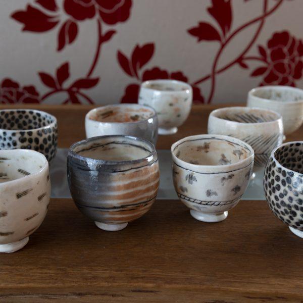 Priscilla Mouritzen pinch pots